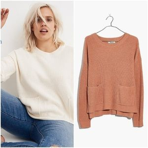 Madewell Patch Pocket Pullover Sweater